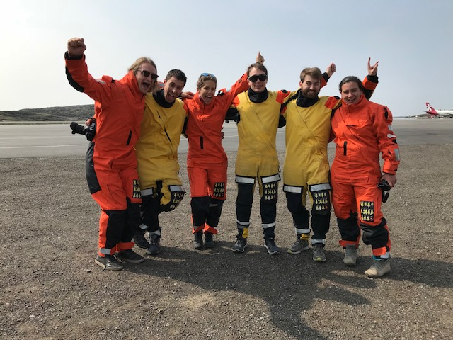 Donning immersion suits - Sentinel North international phd school