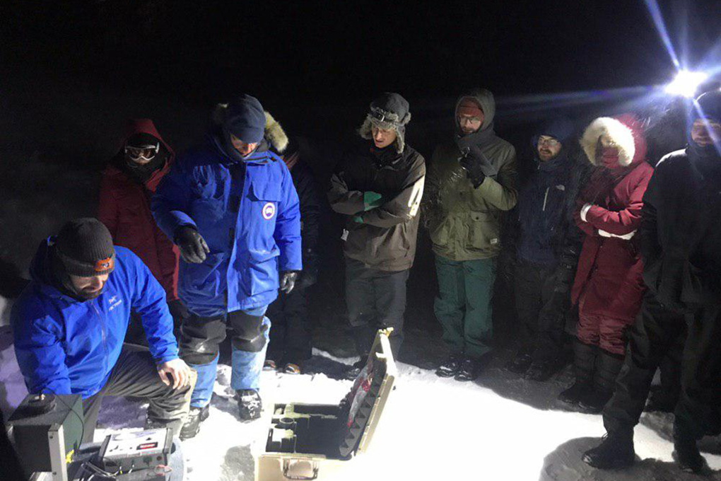 Bootcamp Smaart-Sentinel North, Forêt Montmorency February 2019